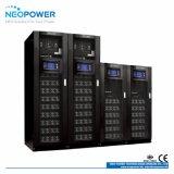 de la redundancia modular 60kVA UPS en línea N+1 con 3 módulos de potencia
