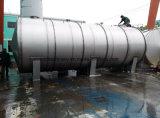 De horizontale Grote Tank van het Roestvrij staal