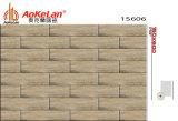 150X600mmマットの床タイルの木によって艶をかけられる無作法な建築材料(15605)