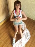 Muñecas sólidas realistas del sexo de la pequeña del pecho muchacha del amor el 148cm
