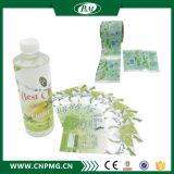 Étiquette imperméable à l'eau de chemise de rétrécissement de bouteille d'eau des prix bon marché