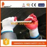 Ddsafety 2017 guanto di funzionamento di sicurezza del lattice lavorato a maglia 10 calibri