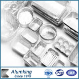 航空会社のケイタリングのためのFollの使い捨て可能なアルミニウム容器