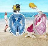 Projeto de respiração livre novo da face cheia com máscara Anti-Fog do Snorkel