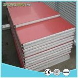 El panel de emparedado del color Board/EPS del aislante de calor/tarjeta de acero para el departamento de trabajo de la oficina del almacén del dormitorio