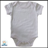 Обыкновенный толком младенец цвета одевает одежды Onesie типа кимона Newborn