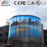 Прозрачная стена индикации СИД стекла для крытого и напольного