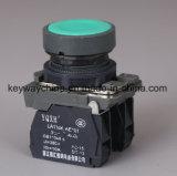 Dia22mm-La118kabn Kleuren de van de Schakelaar van de Drukknop Rode en Groene, Voltage 6V-380V