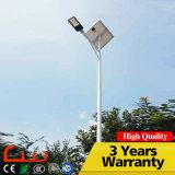 iluminación al aire libre solar galvanizada caliente del poste LED de los 5m