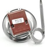 Type réglable thermostat de pression de capillaire de chaufferette