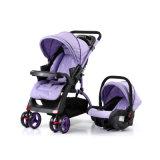 Europäischer Standard-bequemer Baby-Kinderwagen mit Auto-Sitz