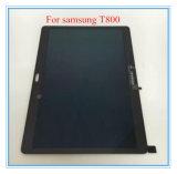 パッドのタブレットLCDのタッチ画面はSamsung T800のためのアセンブリを表示する