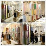 広州の卸売の100%年の綿の明白な染められた編まれた衣服の織布