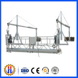 Systèmes s'arrêtants d'échafaudage suspendus par acier en aluminium fait sur commande de plate-forme de fonctionnement
