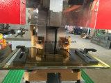 Perfuração, corte, dobra e entalhadura do Ironworker hidráulico