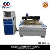 Singolo macchinario dell'incisione di falegnameria della macchina di CNC della testa