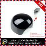 Cor desportiva protegida UV plástica do preto do estilo do ABS brandnew com tampas do espelho do carbono da alta qualidade para Mini Cooper R56-R61