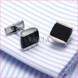 Botão de punho super 377 da ágata de Gemelos do Onyx da qualidade de VAGULA