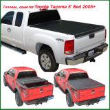 100% abgeglichener Zugrifftonneau-Deckel für Bett 2005+ Toyota-Tacoma 5 '