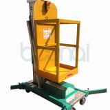 격리된 돛대 공중 일 플래트홈 수압 승강기 (6m)