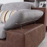 Софа самомоднейшей конструкции секционная с тканью высокого качества для живущий мебели Fb1121 комнаты