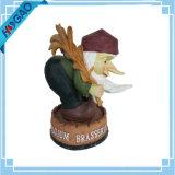 Gnome do jardim - vai o Sculpture-Figurine ao ar livre da arte ausente da jarda da estátua