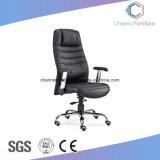 Hoher rückseitiger künstlicher schwarzer lederner hoher Grad-haltbarer Büro-Stuhl