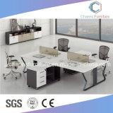Partición del diseño popular de muebles de oficina con la tabla