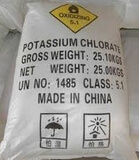 Industailの使用のための塩素酸カリウム99.5%