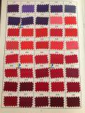 폴리에스테 직물, 빛나는 공단 실크 직물, 존재 500의 색깔 복장 직물 (색깔 도표 2)