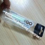 Cylindre en plastique d'animal familier estampé par logo de bonne qualité de 0.45mm Ebay avec la bride de fixation