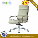 $78 편리한 금속 기초 높은 뒤 가죽 사무실 행정상 의자 (HX-BC023)