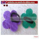 Tissage élastique de cheveu de produits d'usager d'accessoires de bande de cheveu de fleur (P3023)