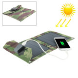 셀룰라 전화 MP4 GPS를 위한 보편적인 5W 휴대용 USB 태양 충전기