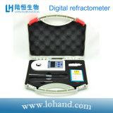 Refractómetro portable de Digitaces de la visualización de la temperatura del Atc (LH-B55)