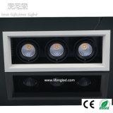 최신 판매 2700k 3000k 4000k 5000k LED 석쇠 스포트라이트