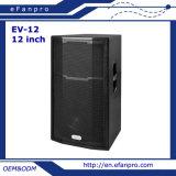 La frecuencia completa escoge el rectángulo del altavoz del equipo audio de 12 pulgadas (EV-12)