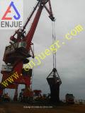 Gancho agarrador de la cubierta de cuatro cuerdas a descargar el níquel para la grúa portuaria