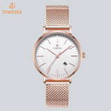 Vigilanza alla moda 71201 del Giappone Miyota dell'orologio della cassa di acciaio inossidabile di moda del quarzo di lusso della vigilanza