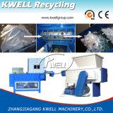 Plástico que recicla la máquina plástica usada solo eje de la desfibradora de la botella de la maquinaria