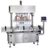 نوع خطّيّ زجاجة غسل يملأ يغطّي آلة يعلّب معدّ آليّ