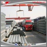 Горячая окунутая гальванизированная стальная пробка BS1387 на штоке