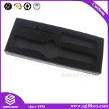 Contenitore di imballaggio nero del regalo dei monili del velluto per la vigilanza o il prodotto elettronico