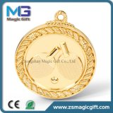 スポーツマッチの卓球の金メダル