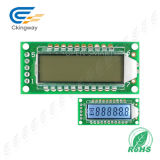Модуль LCD 128X122 LCD характера УДАРА Stn LCD Yellow-Green Transflective
