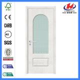 Porta de vidro de madeira Tempered do aço interior (Jhk-G07)