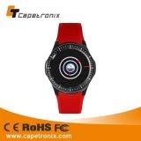 Amoledの表示スマートな腕時計3Dの歩数計のスリープモニタリングの表示時間日付のリアルタイムの温度のスマートな腕時計