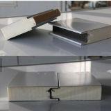 Aluminio - el cinc cubrió el panel de emparedado aislado el acero blanco de la PU