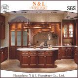 N & L mobilia poco costosa della cucina di legno solido per la casa locativa