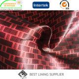 Подкладка костюма поставщика ткани подкладки Dobby сатинировки 100 Polyetser